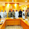 فريق التخطيط الإستراتيجي من الإدارة العامة للتعليم بالأحساء في زيارة للكلية التقنية