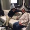 فيصل بن تركي وزوران في دبي إجتماع ودي بكل أريحية