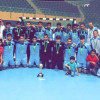 يد القارة يحقق كأس بطولة النخبة لكرة اليد لدرجة الناشئين