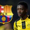 برشلونة يعلن عن رقم ديمبيلي