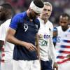 ارتجاج في المخ لمهاجم المنتخب الفرنسي