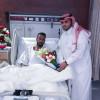 لاعب الفيحاء عبدالله المطيري يجري عملية الرباط الصليبي بنجاح