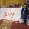 على هامش البطولة العربية للأندية ،، الاتحاد العربي للكاراتيه يدشن شعاره الجديد