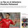 صراع ثنائي في إسبانيا لضم مهاجم منتخب مصر