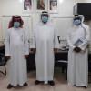 رئيس الثقبة يوقع عقد شراكة مع مدرسة عبدالرحمن بن عوف
