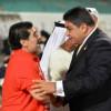 الأولمبياد الخاص الدولى ينعى رحيل دييجو مارادونا صاحب ضربة البداية فى أول تصفيات كأس العالم للاولمبياد الخاص