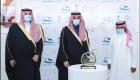 سمو وزير الرياضة يتوج الفائزين في ختام منافسات سباق رماح للهجن