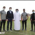 المدير الفني للاتحاد السعودي لكرة القدم يزور نادي الفتح