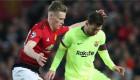 لاعب يونايتد: لست من ضرب ميسي