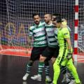 سبورتنج البرتغالي يسقط برشلونة برباعية ويتوج بأبطال أوربا لكرة الصالات