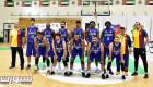 ذهبي النصر يدعم فريق السلة قبل الخليجية