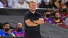 كومان يذكر جماهير برشلونة: خسرنا بثمانية مع ميسي