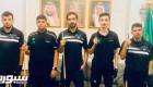 ١١ لاعبًا يمثلون أخضر البلياردو والسنوكر في العربية