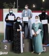 """في ختام منافسات كأس الاتحاد السعودي للسهام للسيـدات""""لارا"""" و""""دلال"""" و""""مشاعل"""" ينتزعن ذهب السهـام"""
