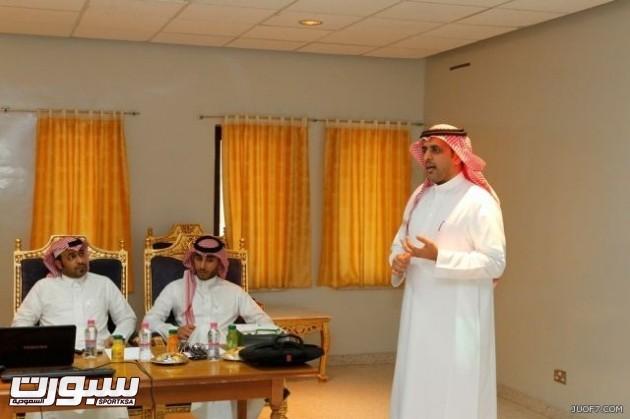 أحمد العقيل لجنة المسابقات