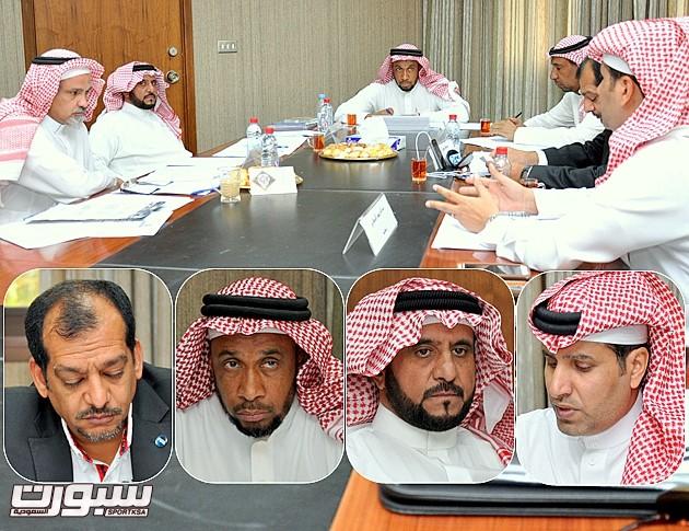 إجتماع لجنة الحكام2