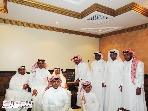 إدارة الجيل خلال تكريم الشيخ العرجي