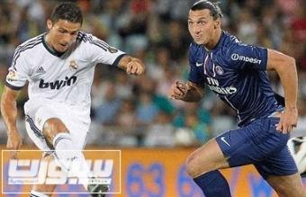ابراهيموفيتش رونالدو باريس ريال مدريد