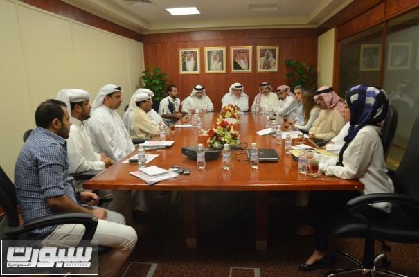 اجتماع اللجنة الاعلامية