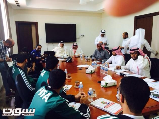 اجتماع  اللجنة الفنية لبطولة الأندية الخليجية