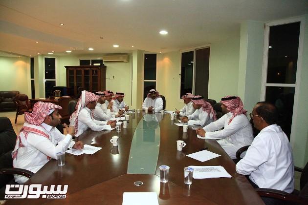 اجتماع مجلس ادراة الرائد