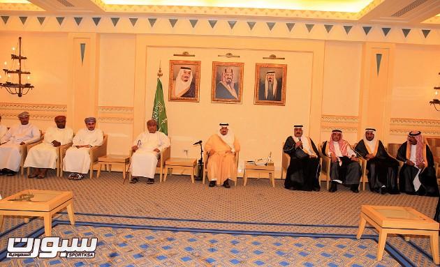 استقبال أمير منطقة القصيم للادارة الرائدية وصحم العماني -(1)- --