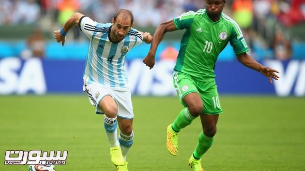 الارجنتين نيجيريا 12