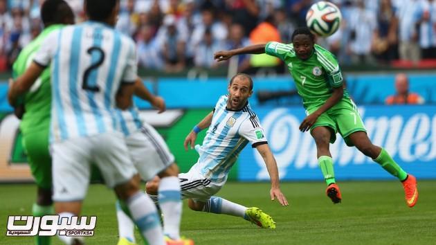 الارجنتين نيجيريا 13