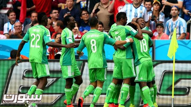 الارجنتين نيجيريا 14