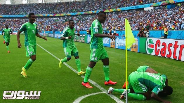 الارجنتين نيجيريا 15