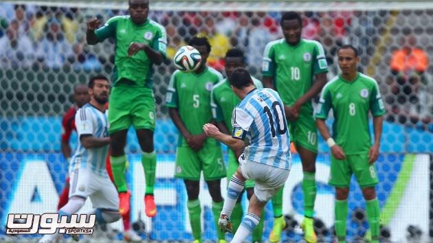 الارجنتين نيجيريا 19