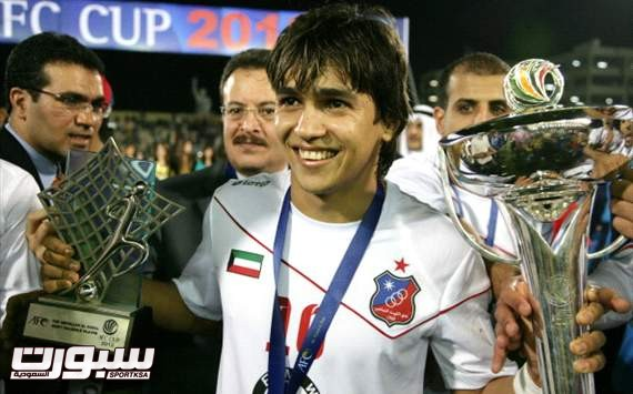 البرازيلي روجيرو لاعب الكويت الكويتي