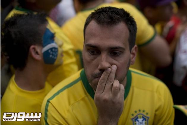 البرازيل المانيا بكاء 3
