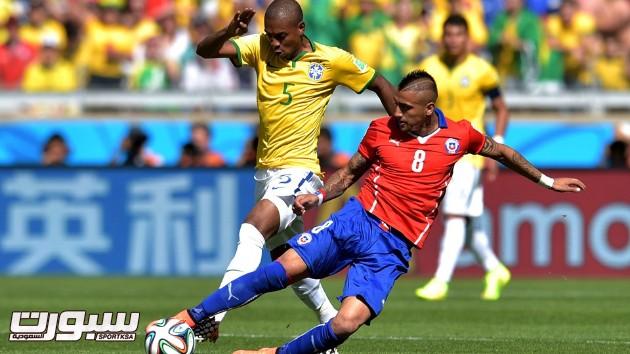 البرازيل تشيلي 13 فيدال فيرناندينو