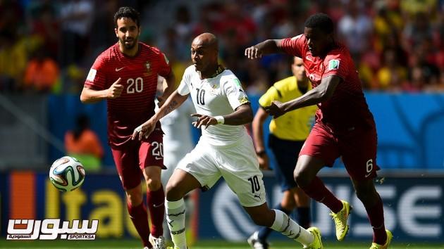 البرتغال غانا 5