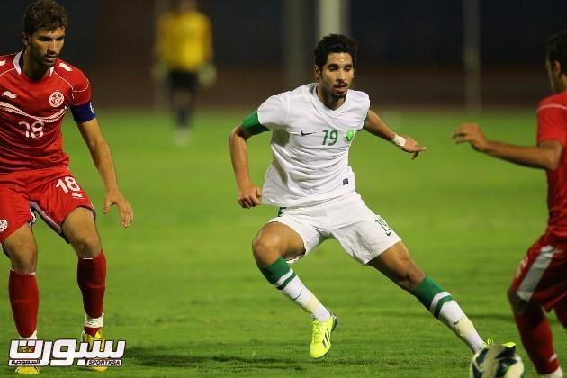السعودية و تونس اولمبي (1)