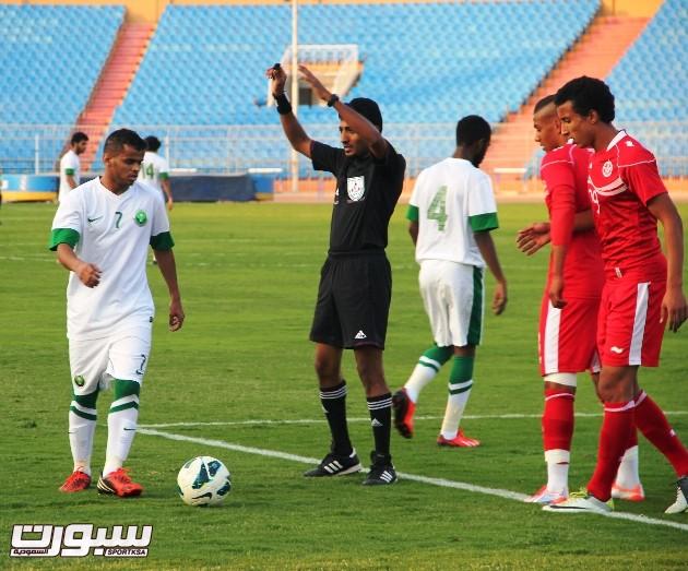 السعودية و تونس اولمبي (3) 