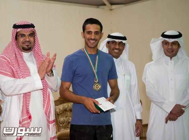 القوس الأولمبي حقق الرامي معيض البقمي المركز الأول