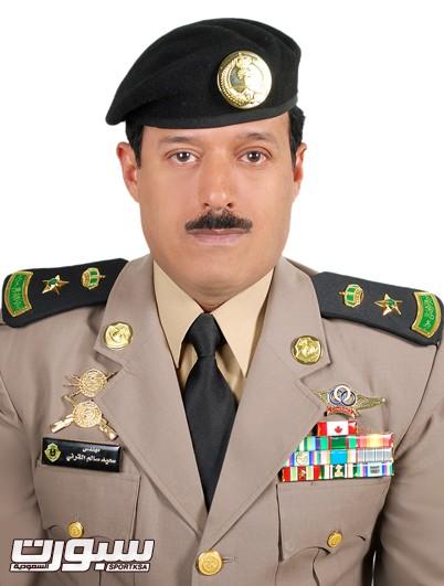 المقدم المهندس سعيد القرني امين عام الاتحاد السعودية للرماية