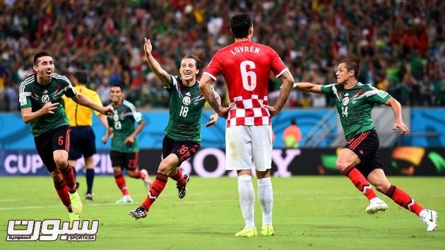 المكسيك كرواتيا 19