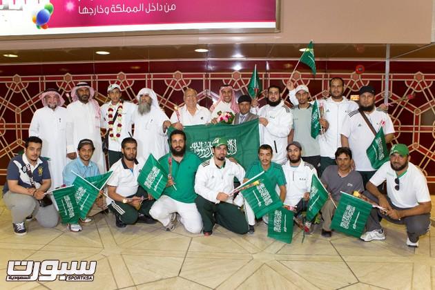 المنتخب السعودي للرماية