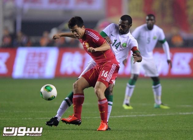 المنتخب السعودي و الصين (2) 