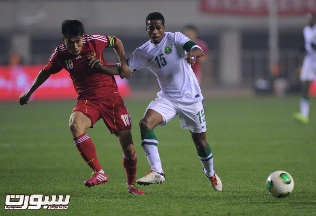 المنتخب السعودي و الصين (5) 