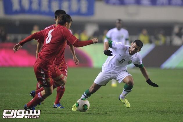 المنتخب السعودي و الصين (7) 