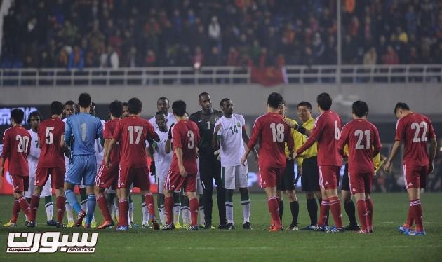 المنتخب السعودي و الصين (8) 