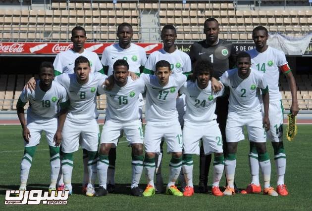 المنتخب الوطني السعودي الاول 2014