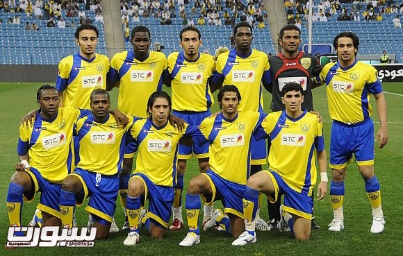 فريق النصر 2010