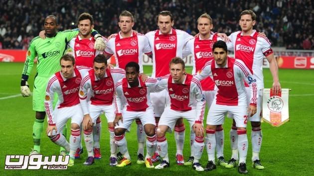 The Ajax team group
