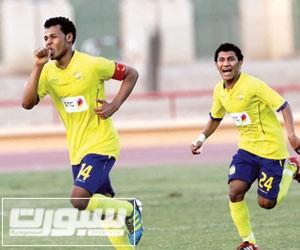 ايمن فتيني لاعب النصر السعودي