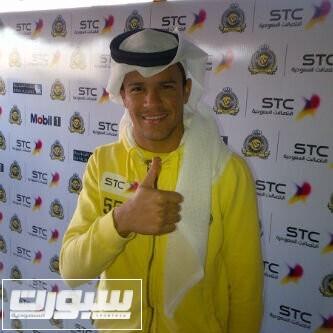 باستوس لاعب النصر بالزي السعودي